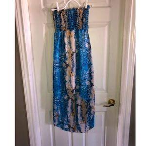 Waterdrop design dress